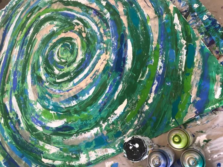 """""""Ebogreen"""" by Nick Hoops"""