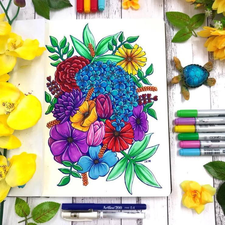 Floral design by Chrissie Murphy Designs